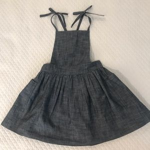 New with tags toddler girls chambray jumper dress
